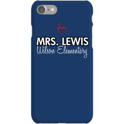 Mrs. Lewis Phone Case