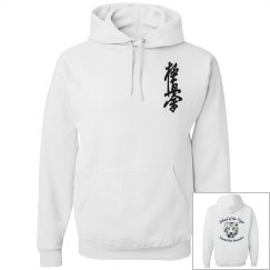 Hoodie with Kanji and Logo