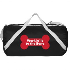 Workin it to the bone bag