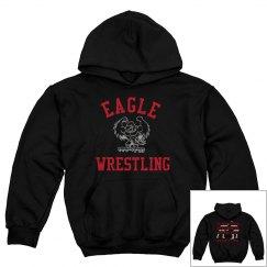 Boy hoodie wrestling