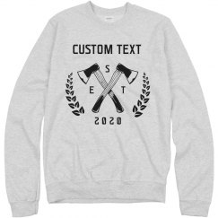Custom Axe Throwing Sweatshirts