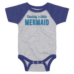 Daddy's Cute Little Mermaid