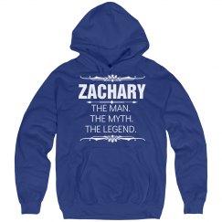 Zachary the man, the myth, the legend