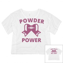 Custom Powder Puff Neon