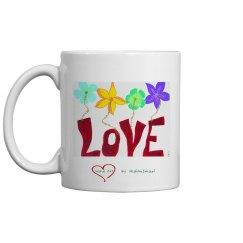 Word Art Mug