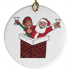 Santa Clause Ornament