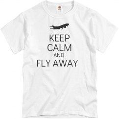 Keep calm fly away