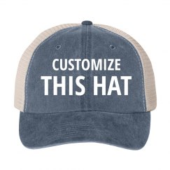 Custom Vintage Trucker Hats