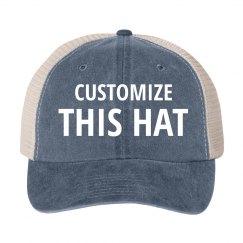 Custom Vintage Trucker Hats