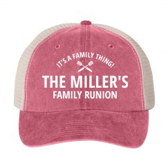 Family Reunion Vintage Group Hats