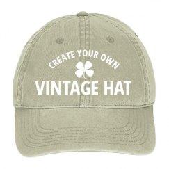 Pigment Dyed Twill Baseball Hat