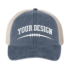 Personalized Vintage Football Hat