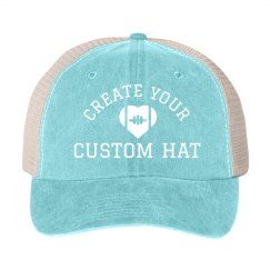 Customizable Football Fan Love Hat