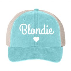 Brunette & Blonde Best Friend Hats