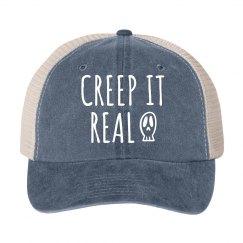 Creep It Real Funny Halloween hat