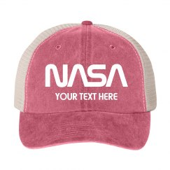 Customizable NASA Logo Gift Hat