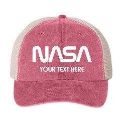 Customizable NASA Logo Gift Hat