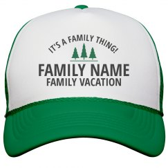 Custom Family Vacation Thing