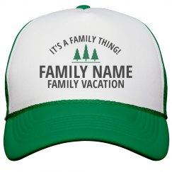 Custom Family Vacation Thing