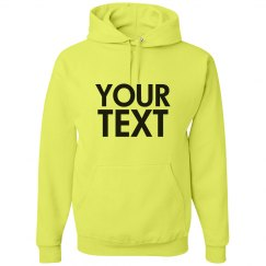 Personalized Neon Hoodie
