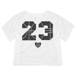 Custom 23 Basketball Crop