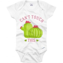 Can't Touch This Cactus Onesie