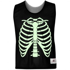 Glow Run Skeleton Pinnie