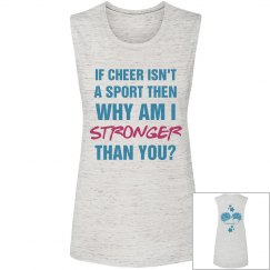 Cheerleaders Are Stronger Than You