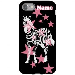 Add Your Name Pop Zebra