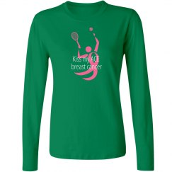 Kiss My ACE Breast Cancer Tennis Shirt