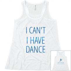 I have dance tank
