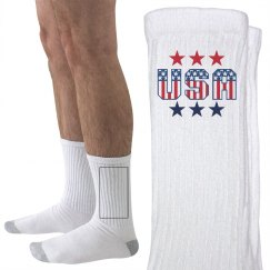 Proud and Patriotic Socks