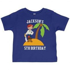 Pirate Island Birthday Party
