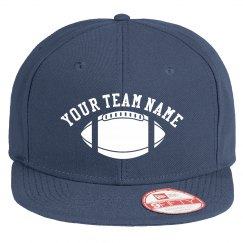 Add Your Team Name Fantasy Football Camo Trucker Hat
