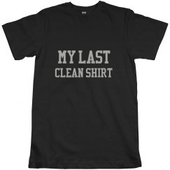 My last clean shirt