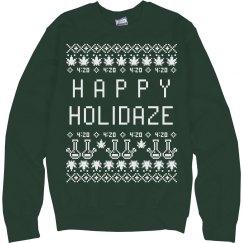 Holidaze Xmas Ugly Sweater