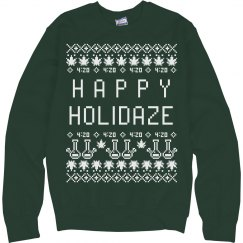 Holidaze Xmas Ugly Sweater