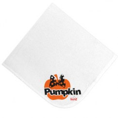 Infant pumpkin blanket