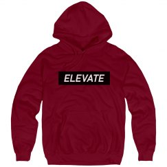 Elevate Hoody - Deep Red