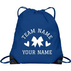Cheerleader Custom Team & Name