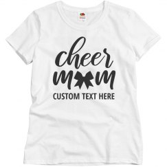 Cheerleader Mom Script Custom Text