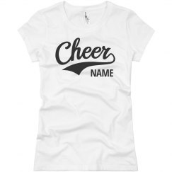 Custom Cheerleader Cheer Team
