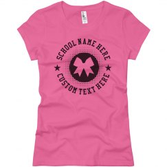 Custom Cheerleader School Shirts