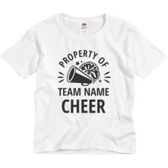 Property Of Custom Cheer Team