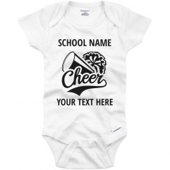 Custom School Cheerleader Spirit