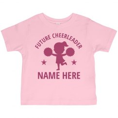 Little Girl Future Cheerleader Name
