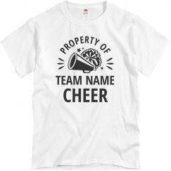 Cheer Dad Custom Team Name