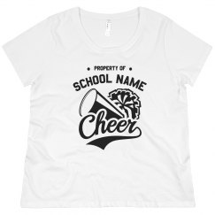 Custom Plus Size Cheerleader Mom