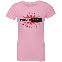 Youth girls pink t-shirt