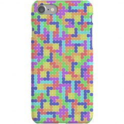 Tetromino Pattern Phone Case (2)